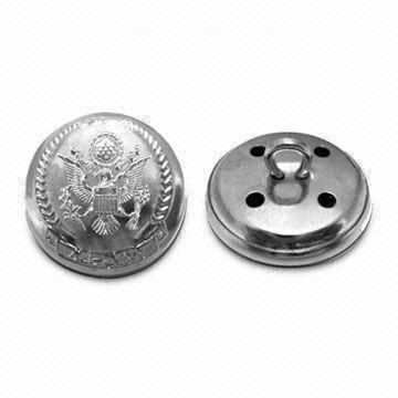 Uniform Buttons-Veky Badge Craft Factory is the leading supplier of Badges, Lapel Pin,Emblem, Badge holder,Name Badges, Keychain , Commemorative  Coin, Medal , Bookmark, Metal Dog Tag, Cufflink& Tie Clip,Cell Phone Charms, etc metal gifts and crafts .